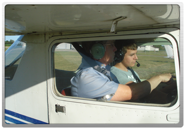 Tillsonburg flying school - Introductory flight